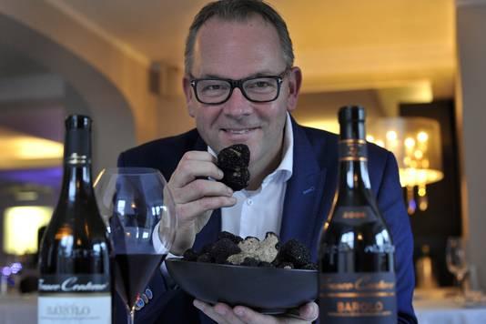 Bernard Tesink, voormalig eigenaar van toprestaurant De Burgemeester in Linschoten