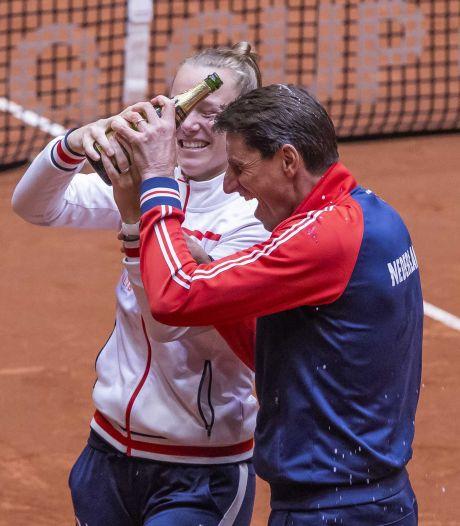Tennissters dankzij Schuurs en Rus verder in Billie Jean King Cup