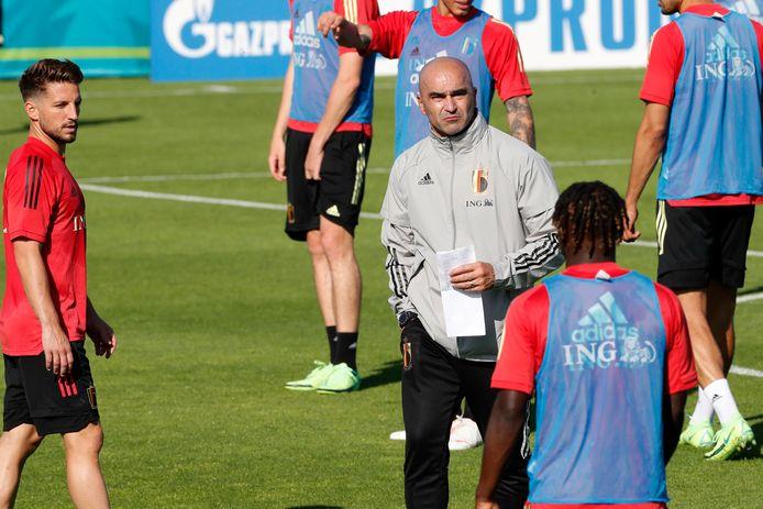 Martínez verwacht zijn groep om 17u30 op het trainingsveld.