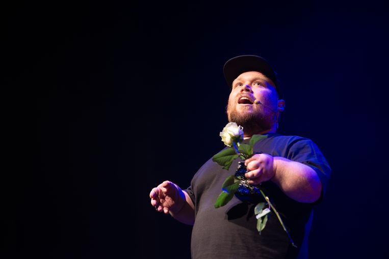 De liveshows van stand-upcomedian William Boeva zijn te zien via het nieuwe streamingkanaal LiveComedyTV.  Beeld Tom Bertels