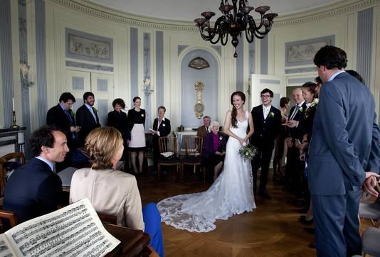 De Maaskamer werd eerder gebruikt voor concerten en huwelijken.