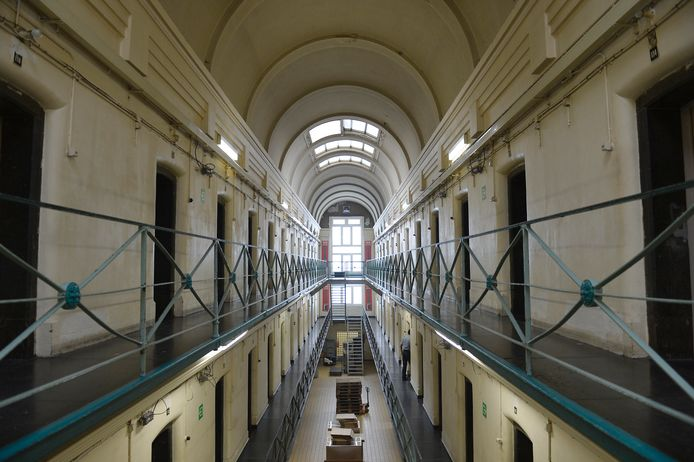 Archiefbeeld gevangenis Dendermonde.