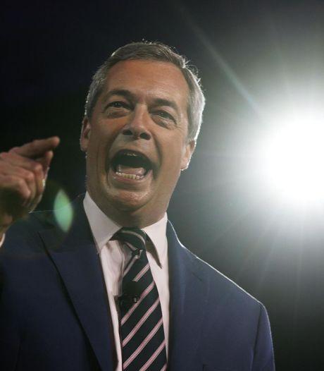 2016 n'était qu'un début, prévient Nigel Farage