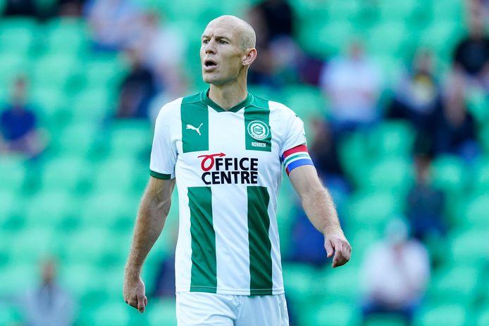 FC Groningen-speler Arjen Robben komt terug van een blessure en speelt dus mogelijk mee in het bekerduel tegen TEC in Tiel.