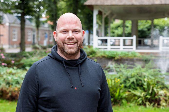 Niels Janse maakte deel uit van de organisatie van De Oisterwijkse Zomer op de kop van De Lind.