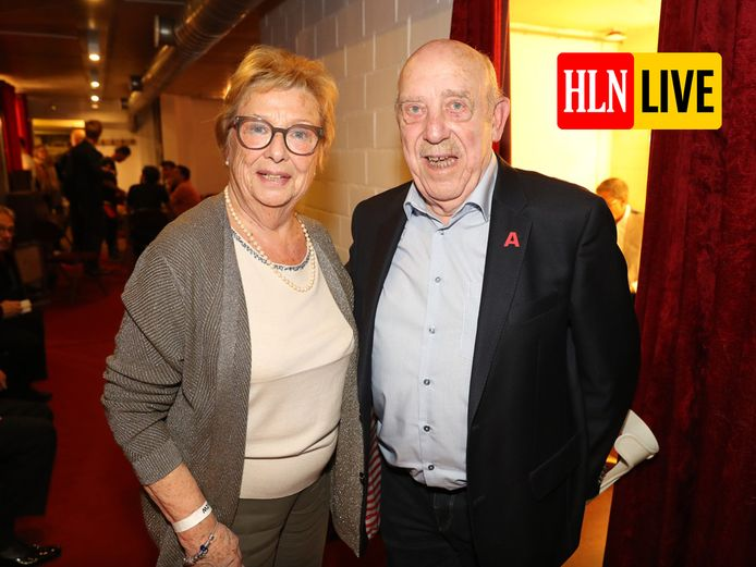 Bob Van Staeyen met zijn partner Annie.