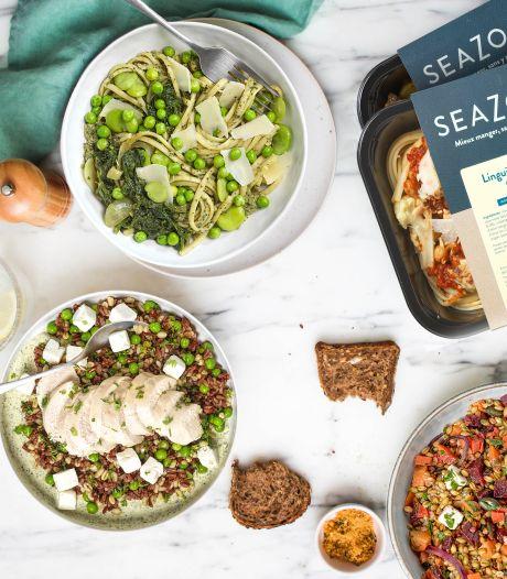 Seazon, qui cartonne en France, débarque chez nous: des plats sains prêts en 2 minutes 30