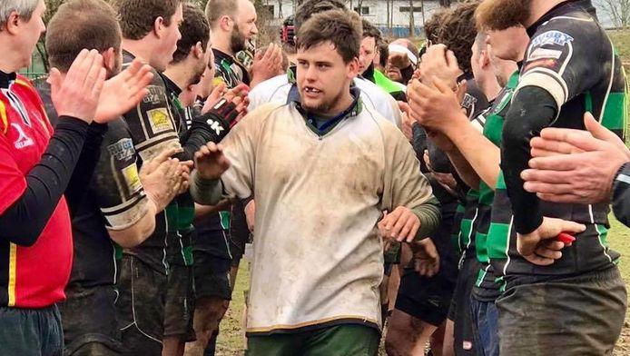 Axel jouait au rugby à Hautes-Fagnes Malmedy