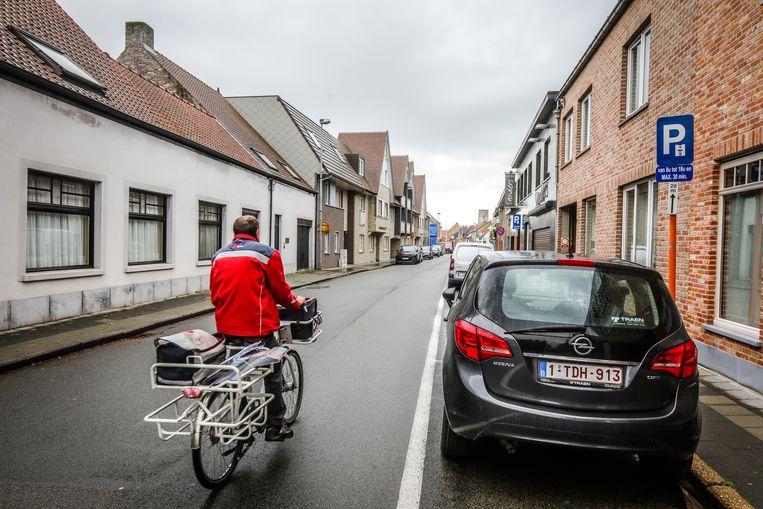 Jabbeke dorpstraat wordt fietsstraat