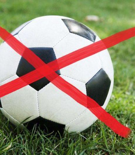 Weer aantal amateurvoetbalwedstrijden afgelast wegens coronavirus