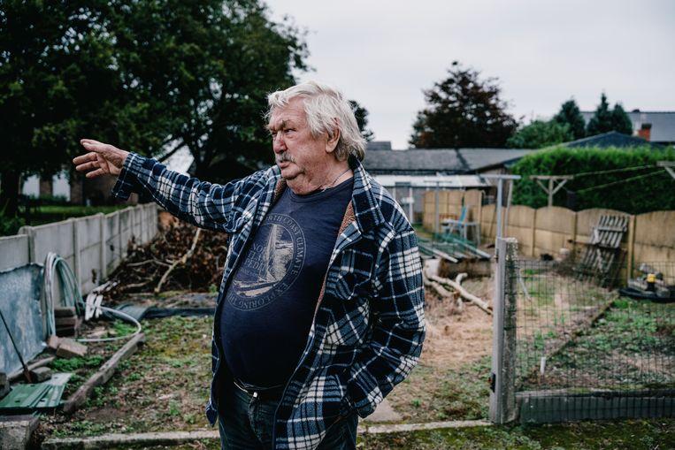Een inwoner van Oudsbergen: 'De wolf hoort hier niet.' Beeld Wouter Van Vooren