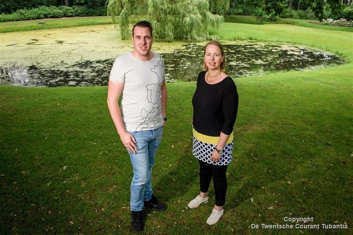 Nick Laarhuis en Saskia Overzee Boenders organisatoren Zonnestraalfestival.