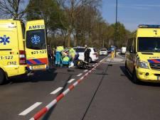 Motorrijder zwaargewond in Schijndel, veel files door afgesloten wegen