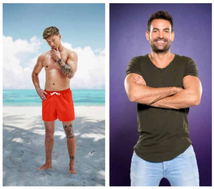 REALITYCHECK. Dusty uit 'Ex on the Beach: Double Dutch' en Michel uit 'Big Brother'.