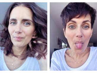 """COLUMN. Lara Switten (34), mama van 3 die strijdt tegen kanker: """"Ik neem nog een paar laatste selfies met lang haar"""""""