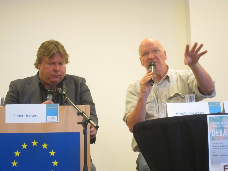 Jensen en Karskens: 'wij'.