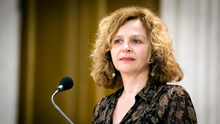 Edith Schippers geeft een toelichting op het vastlopen van de formatiegesprekken. Beeld anp