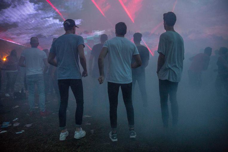 Technofestival 909 in het Amsterdamse Bos Beeld Amaury Miller