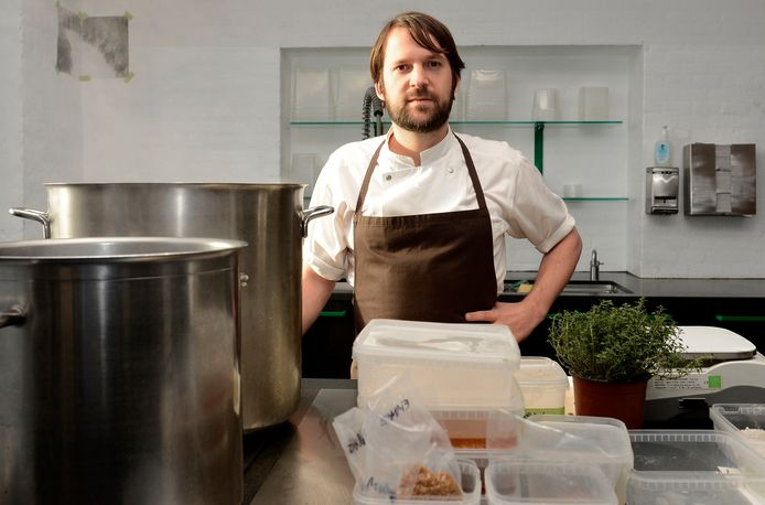 Chef-kok René Redzepi van Noma.
