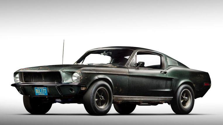 Ford Mustang Bullitt. Beeld Mecum Auctions