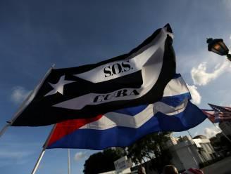 VS straffen Cuba voor hardhandig onderdrukken van protesten