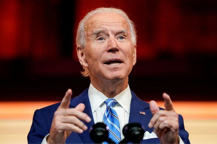 Joe Biden. Beeld REUTERS