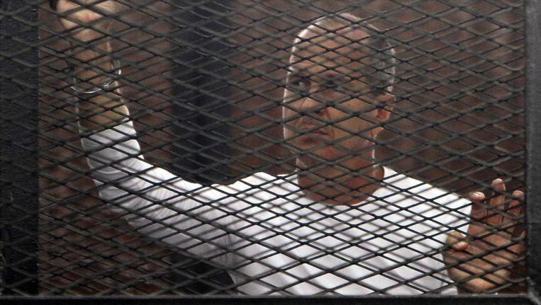 De Australische journalist Peter Greste. Beeld REUTERS