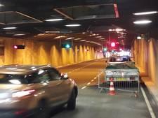 Tweede stut in tunnel naar parkeergarage Arnhem Centraal