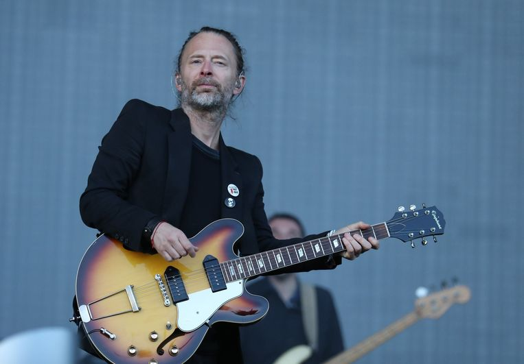 Thom Yorke. Beeld Photo News