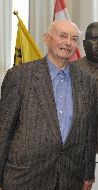 Wim Geldolf in 2009, op 80-jarige leeftijd.