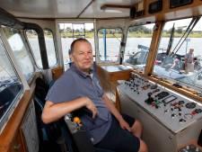 Pontbaas Olst en Wijhe houdt waterstand IJssel scherp in de gaten: 'In de zomer heb je vlug water'