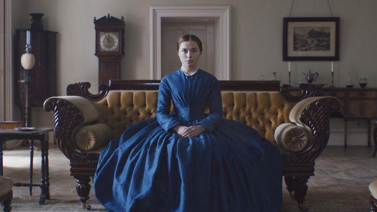 Pugh als rebelse kasteeldame in Lady Macbeth (William Oldroyd, 2016). Beeld
