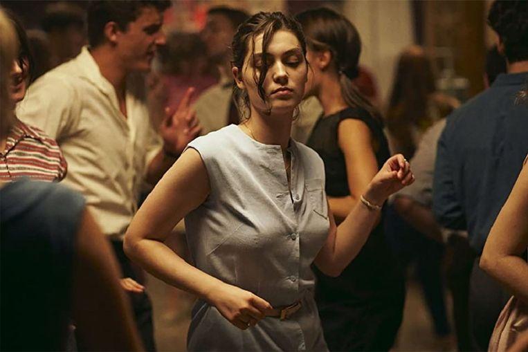 Een van de sterkste films in  de eerste helft van het competitieprogramma, is L'événement van Audrey Diwan.  Beeld -