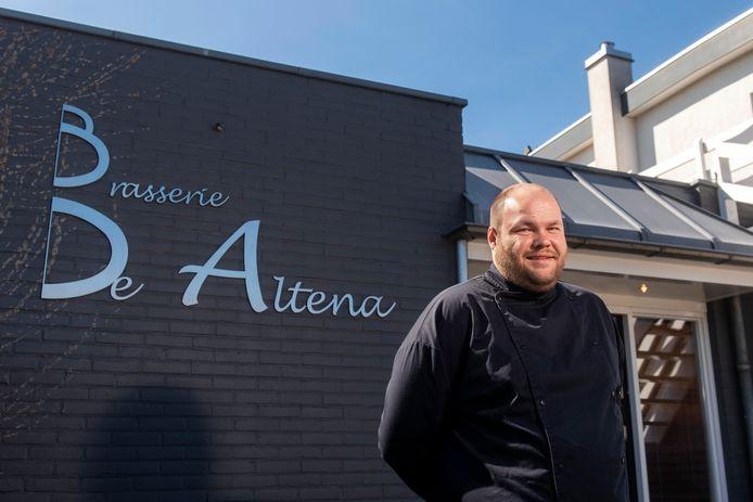 Ricardo de Beer, bedrijfsleider en chef-kok van brasserie De Altena in Oosterhout.