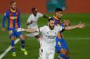 Benzema scoorde de 1-0.