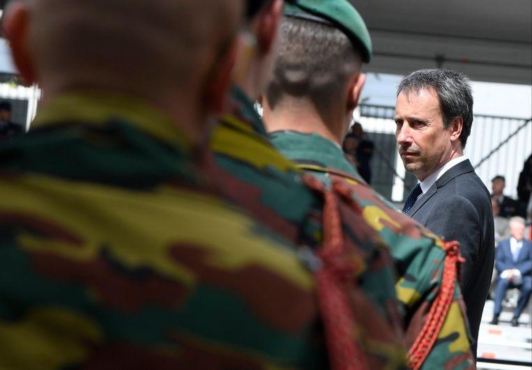 Ex-defensieminister Philippe Goffin (MR). Beeld Photo News