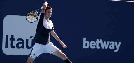 Kazachse tennisser slaat 'belachelijke' return van 169 kilometer per uur