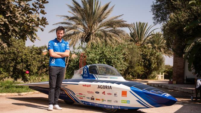 Glen (22) rijdt volgende week met zonnewagen doorheen de Sahara