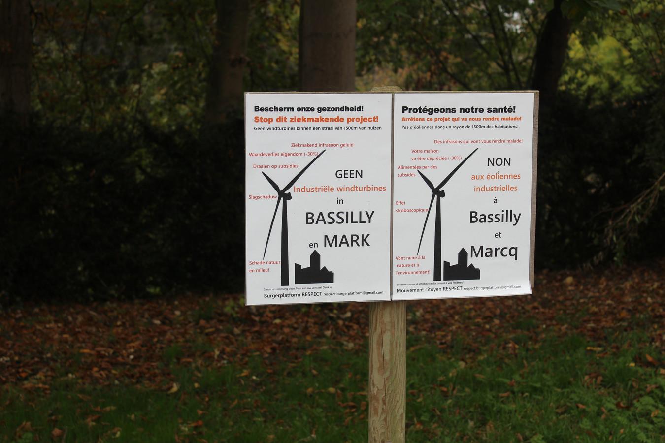 Opnieuw openbaar onderzoek gestart naar het windmolenpark Bassily van Eoly.