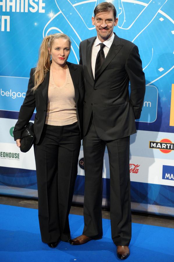 Tine Reymer en Peter Van Den Begin.
