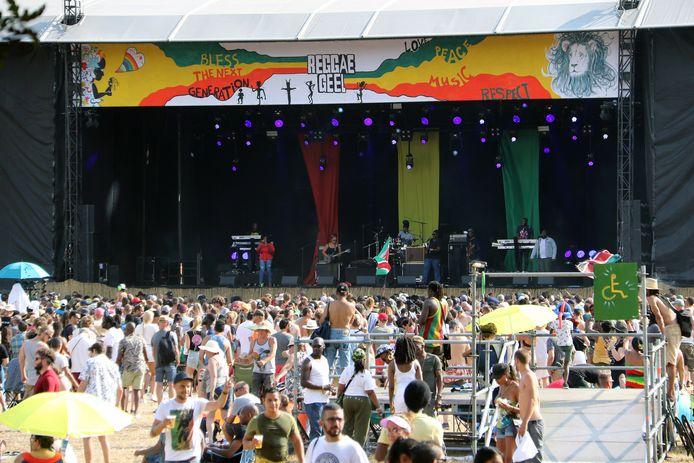 Reggae Geel in 2018.