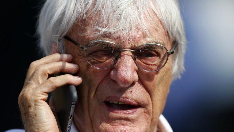 Bernie Ecclestone blijft directeur van de Formule 1. Hij is dat al sinds 1978. Beeld photo_news