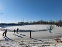 Rondjes draaien op ijsbaan De Greb in Veenendaal.