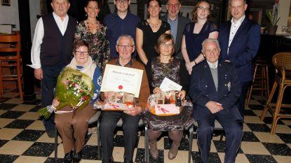 Sint-Jansfanfare huldigt verdienstelijke leden