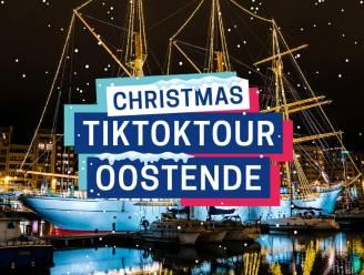 Verwarm uzelf met een dansje: Oostendse TikTokTour baadt nu ook in kerstsfeer