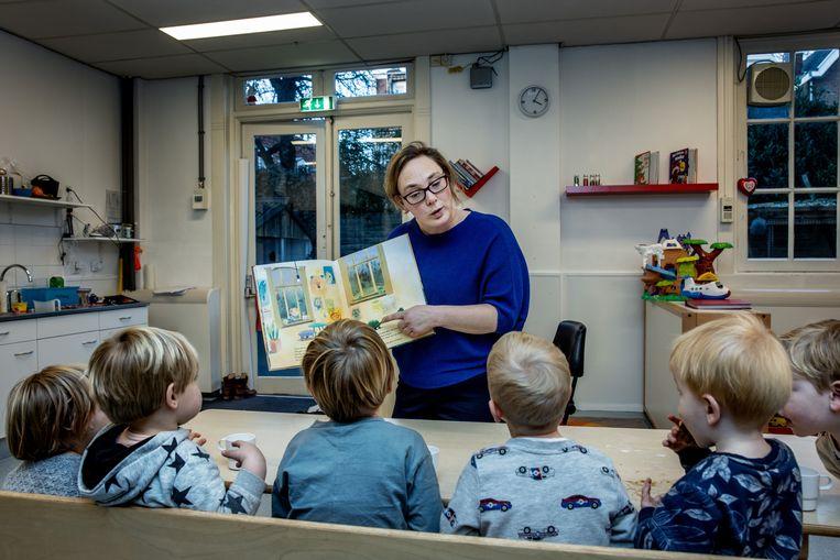 Pedagogisch medewerker Marloes Morijn in Haarlem. Beeld Jean-Pierre Jans
