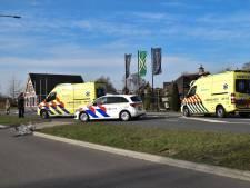 Fietsster (63) ten val en aangetikt door vrachtwagen op N317 bij Drempt, traumahelikopter landt