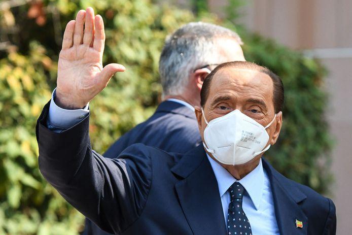 Archiefbeeld. Silvio Berlusconi in september 2020.