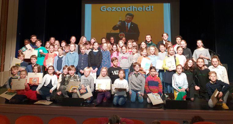 Alle deelnemers van Dr. De Gruyter.
