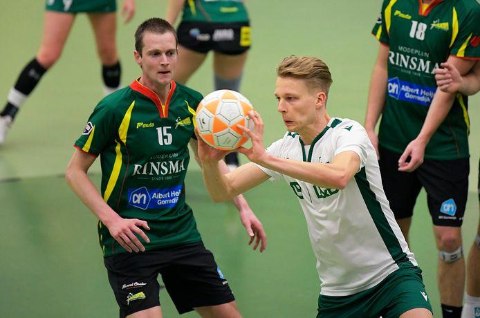 Jelmer Jonker was tegen TOP topschutter bij PKC, dat echter wel met 21-22 verloor.